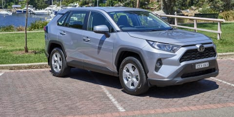 2020 Toyota RAV4 GX automatic review