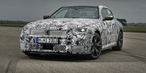 2022 BMW 2 Series Coupe previewed: New coupe to retain rear-wheel-drive bias, small kidney grilles