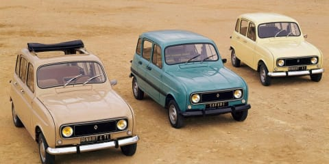 Renault 4 celebrating 50th anniversary in 2011