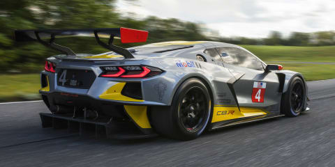 2020 Chevrolet Corvette C8.R race car unveiled