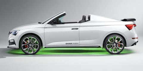 Skoda Slavia spider: annual student concept car unveiled