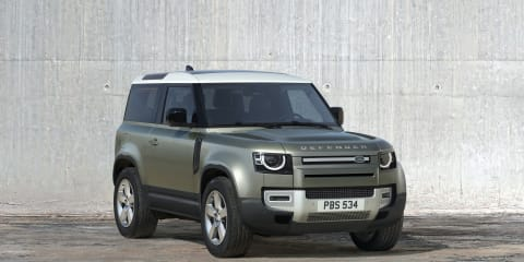 2021 Land Rover Defender 90 'shorty' in Australia from October