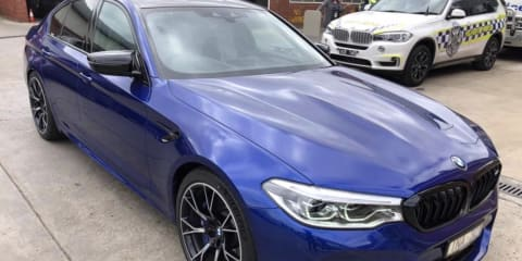 BMW M5: Victoria Police take delivery of Australia's fastest highway patrol car