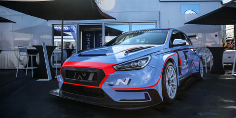Hyundai i30 N TCR racer debuts at the Nurburgring