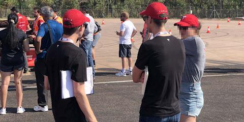 Tesla scoping for talent at the Bridgestone World Solar Challenge