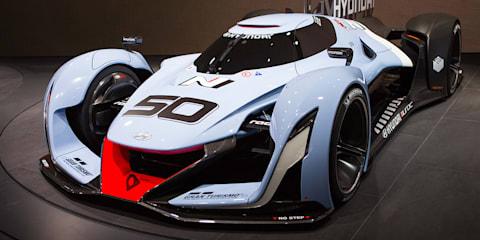 Hyundai N 2025 Gran Tourismo Concept Walkaround : 2015 Frankfurt Motor Show