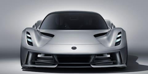 Lotus Evija not coming to Australia in 2020