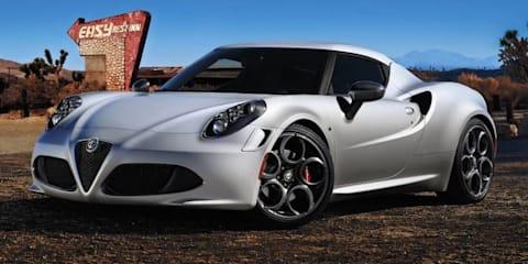 Alfa Romeo 4C from $75,000