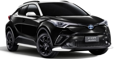 Toyota releases Karl Lagerfeld edition of the C-HR
