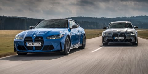 2021 BMW M3 and M4 Competition xDrive revealed: Hot mid-sizers gain all-wheel drive, here late 2021