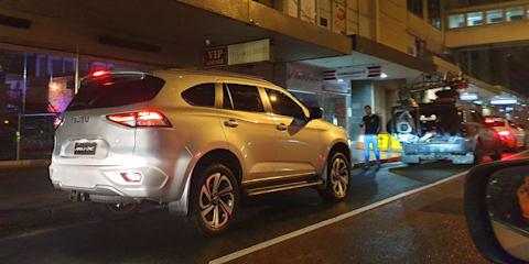 2021 Isuzu MU-X caught on camera on Sydney streets, Australian arrival just months away