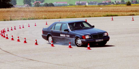 Bosch celebrates 25 years of electronic stability control