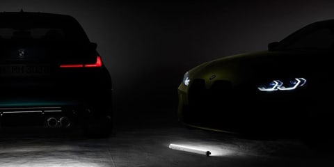 Hidden message in BMW M3 and M4 teaser photos