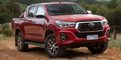 2020 Toyota HiLux recalled due to compliance label