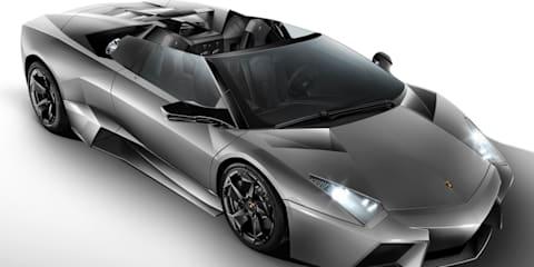 Lamborghini Reventón Roadster offical details