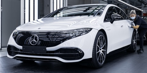 2022 Mercedes-Benz EQS goes into production at Germany's Factory 56