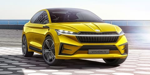 Skoda Vision iV Concept reveals new design direction for Czech brand