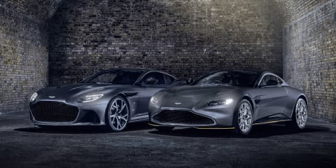 Aston Martin 007 special edition unveiled ahead of new Bond film