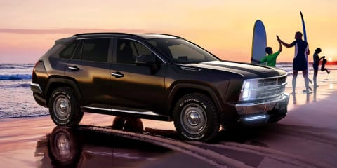 Mitsuoka Buddy unveiled: Retro American styling for the Toyota RAV4 –UPDATE: Sold out!