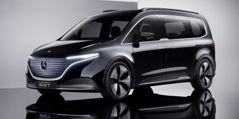 Mercedes-Benz Concept EQT: Electric people mover concept previews future production model