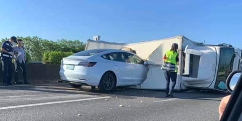 Tesla Model 3 drives into overturned truck, was Autopilot to blame?