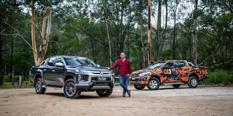 Mitsubishi Triton Old v New: 2016 GLX+ v 2019 GLS Premium