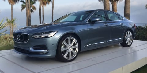 2017 Volvo S90 - Walkaround Video Review