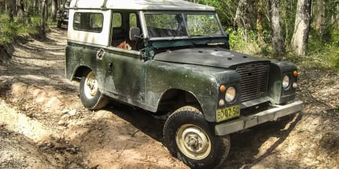 Project Cars: 1971 Land Rover Series IIA