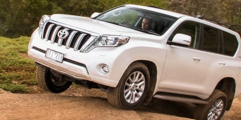 Should you turn off traction control off-road? : Toyota LandCruiser Prado VX