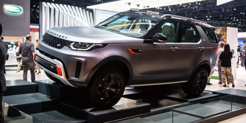 Land Rover Discovery SVX in Los Angeles