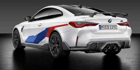 2021 BMW M3, M4 show off their M Performance enhancements