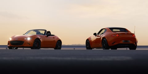Mazda MX-5 30th Anniversary Edition revealed in Geneva
