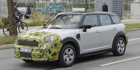 2020 Mini Countryman spied