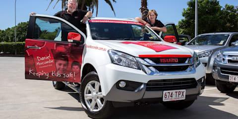 Isuzu MU-X to continue Morcombe family child safety crusade