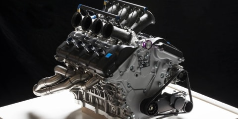 Volvo reveals V8 Supercar engine