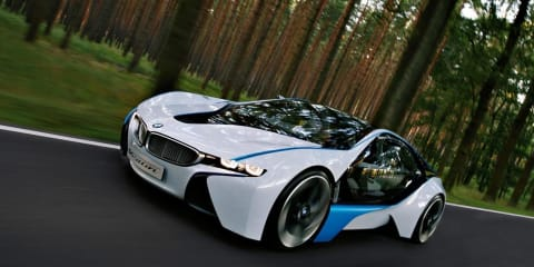 BMW Vision M8 V10 hybrid possibility