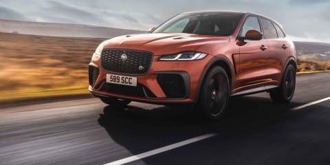 2021 Jaguar F-Pace SVR review