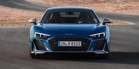 2019 Audi R8, R8 Spyder revealed