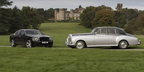 Bentley V8 engine turns 60