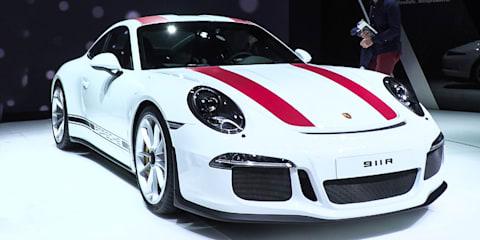 Porsche 911 R Manual : 2016 Geneva Motor Show