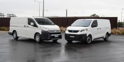 2019 Toyota HiAce v Peugeot Expert comparison