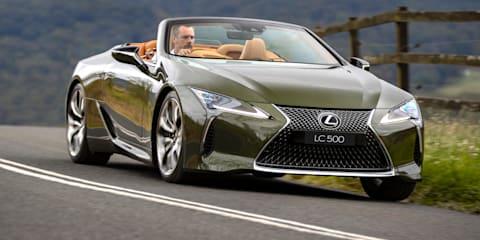 2021 Lexus LC500 Convertible price and specs - UPDATE: Australian photos