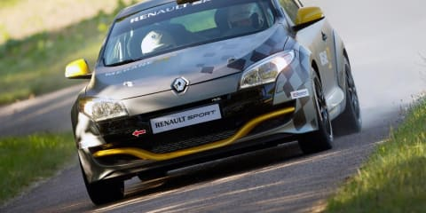 2011 Renault Megane Renaultsport N4 revealed