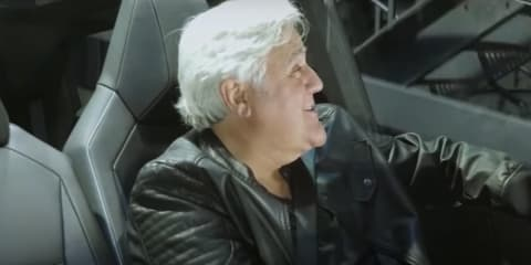 Tesla Cybertruck to appear on new episode of Jay Leno's TV show