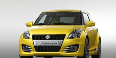 Suzuki Swift S-Concept previews new Swift Sport