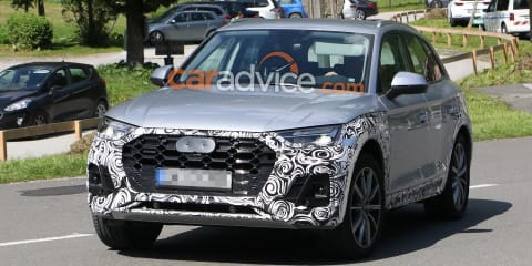 2020 Audi Q5 spied inside and out
