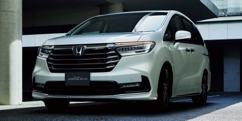 2021 Honda Odyssey facelift launches in Japan