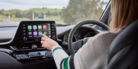 Toyota: Apple CarPlay retrofit $199 for selected models