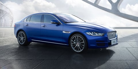 Jaguar XEL revealed for China ahead of Guangzhou debut