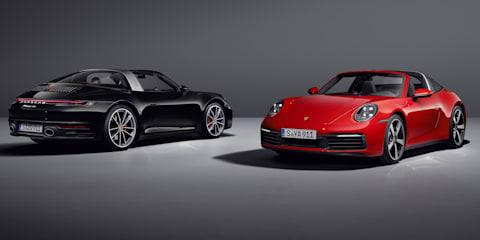 2020 Porsche 911 Targa 4 and Targa 4S price and specs